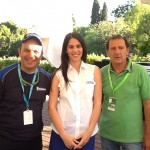 Rally Acropolis, εκκίνηση Αίγλη Ζαππείου με τον Κώστα Στεφανή και την υπεύθυνη υποδοχής της Michelin Hellas